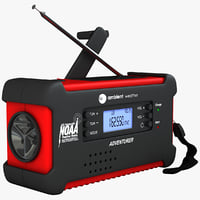 emergency solar radio digital max