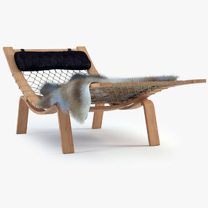 3ds max hammock lounge chair