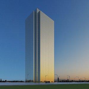 new skyscraper 67 3d model