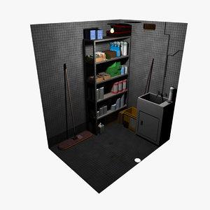 maya cleaning closet