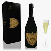 Dom Perignon Champagne Set