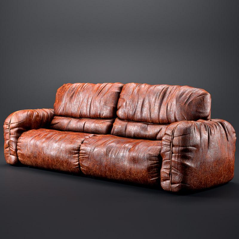 max realistic sofa old