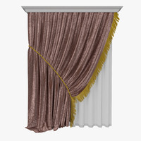 3d curtains 22 model