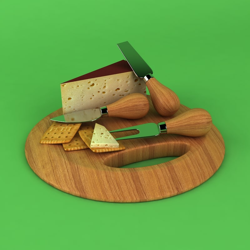 cheese board dxf