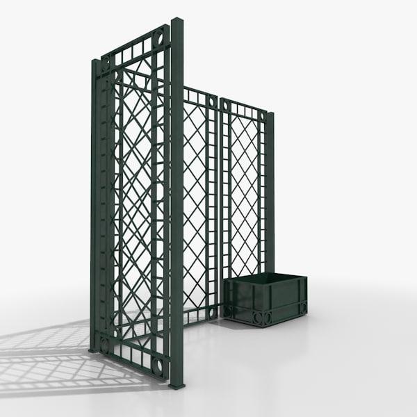 3d screen model