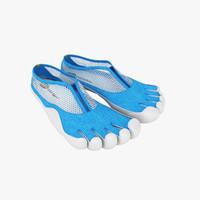 Vibram Five Fingers Shoes Blue