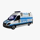 police van 3D models