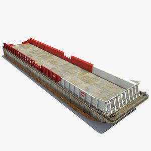 bulk cargo barge max