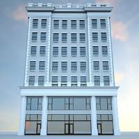 20th century building 3d max