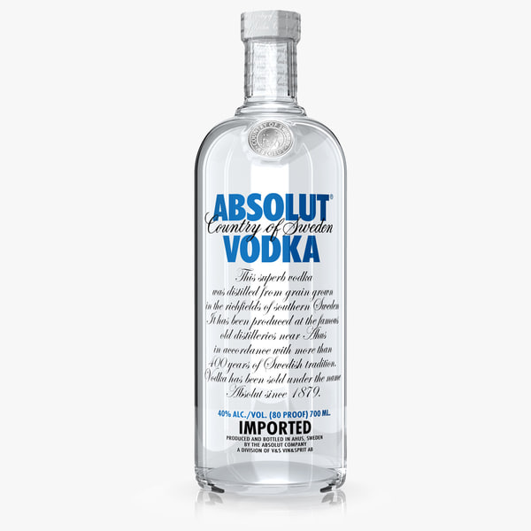 absolut vodka dxf