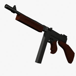 lwo thompson machine gun