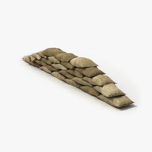 max sandbag wall