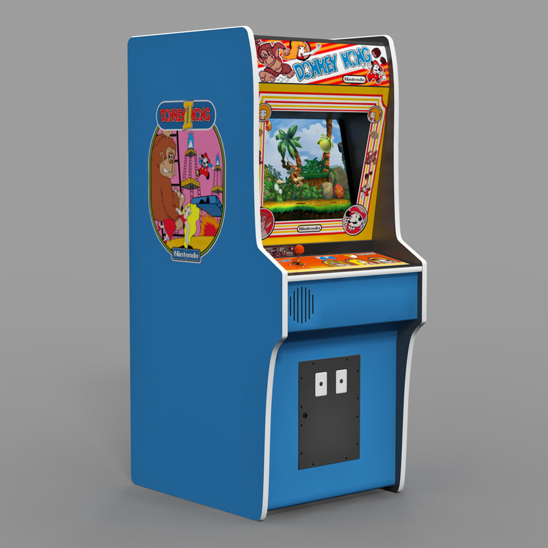 3d arcade donkey kong
