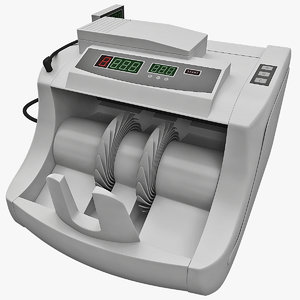 currency counter 3d max