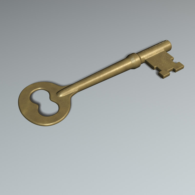 new skeleton key 3d model