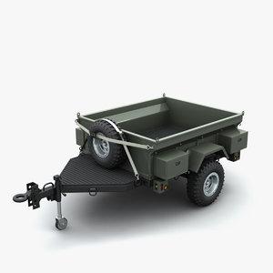 trailer vehicles 3d model