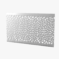 Perforated Wave Wall Panel