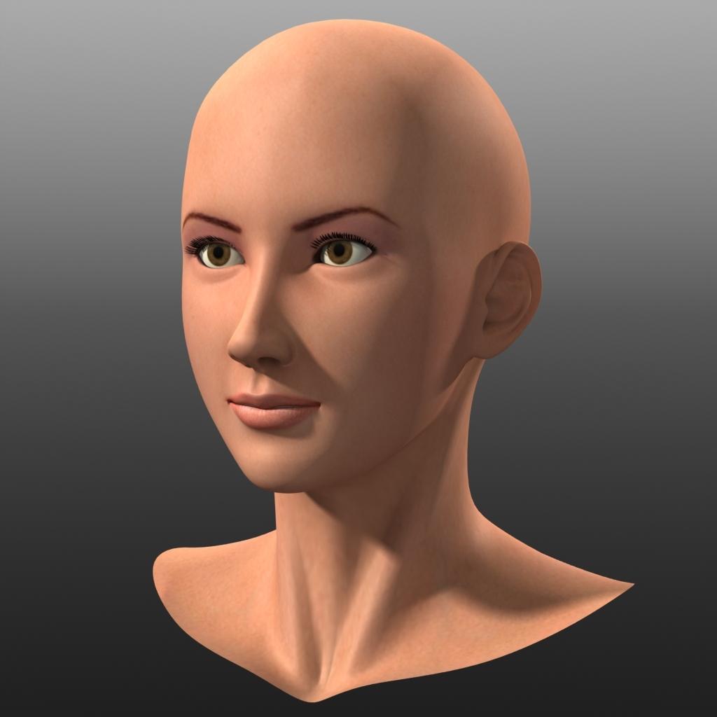 3D Asian Girl asian girl