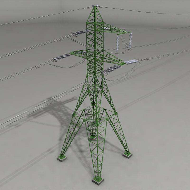 3d 3ds voltage power line