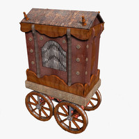 3d orchestrion model