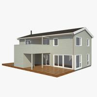 3d realistic house favn nb model