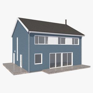 realistic house flid nb 3d max