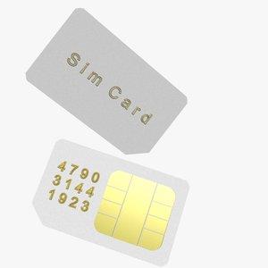 3ds max sim card