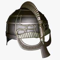 swedish goggle helmet 3d max