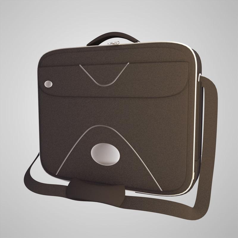 3d model bag case