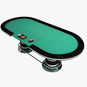 poker table 3d 3ds