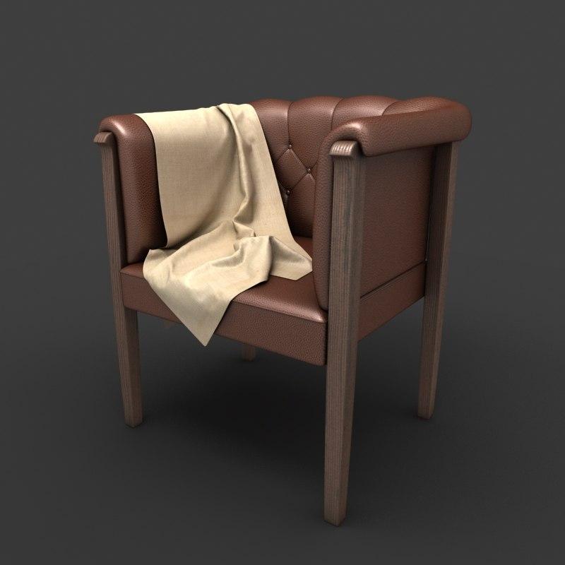 3dsmax chair interior photorealistic