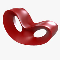 Voido Rocking Chair By Ron Arad