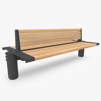 Street Bench 01