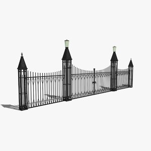 max wrought iron fence gate