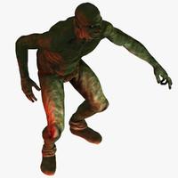 dark fantasy goblin 3d model