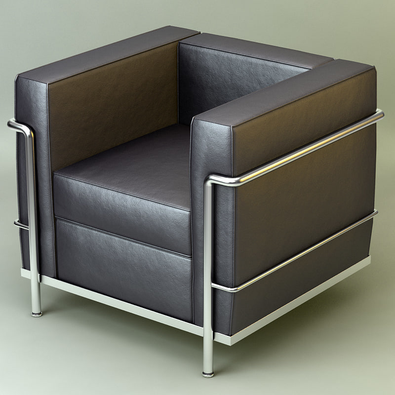 max chrome armchair