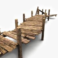 Wooden Pier Textured (2)