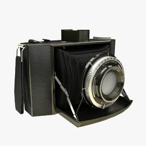 3d model video camera
