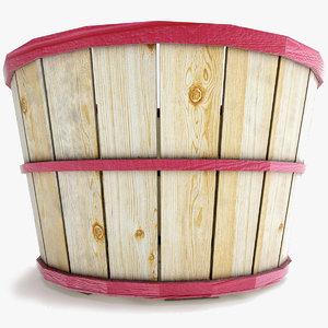 max wood basket