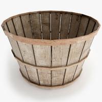 Old Wood Basket