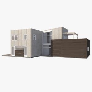 realistic house jade nb 3d max