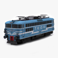 TCDD E 40015 Electric Locomotive