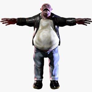 cinema4d fat man