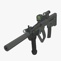 3d tavor assault rifle