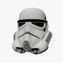 storm trooper helmet 3D models