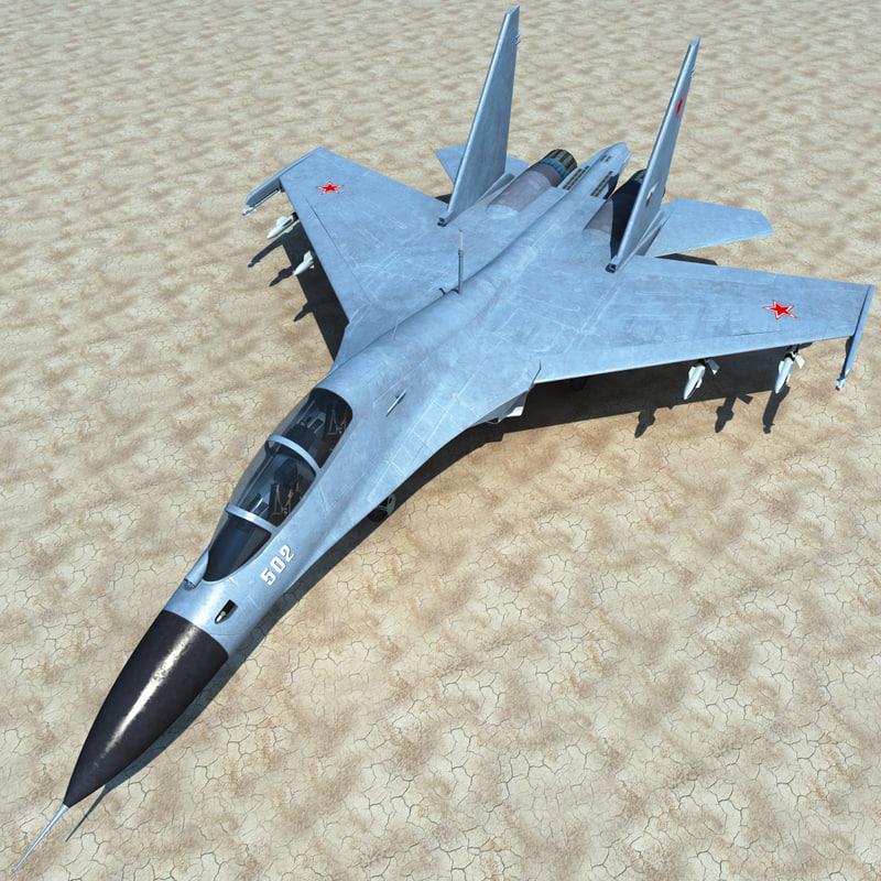 3d su-30 2