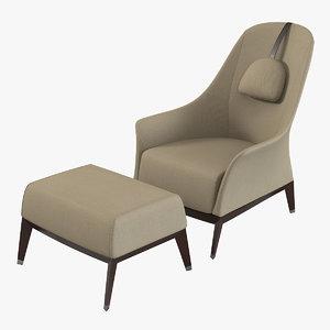 max giorgetti normal armchair pouf
