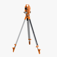 Theodolite On Tripod Base