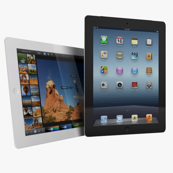apple ipad 4g 3rd 3d 3ds