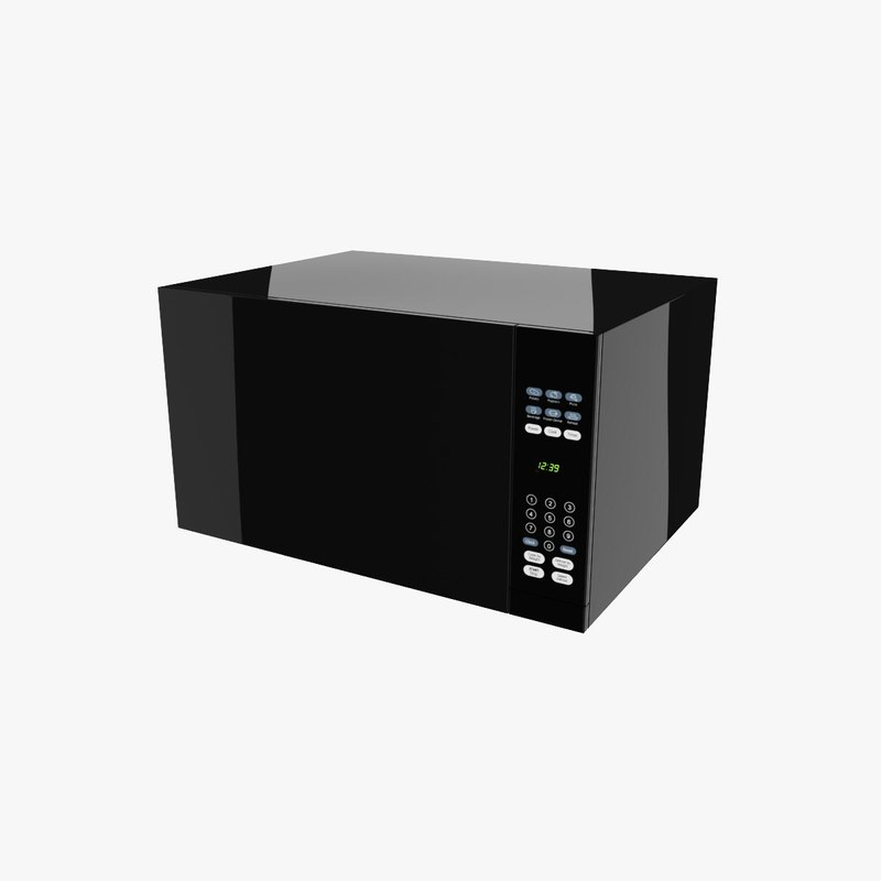 3d max microwave appliance